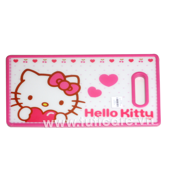 Thớt nhựa Hello Kitty