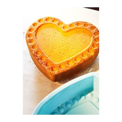 Khuôn bánh IKea - silicone (Baking mould, heart-shaped)