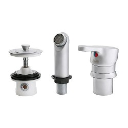 Vòi bồn rửa Ikea / Wash-basin mixer tap with strainer