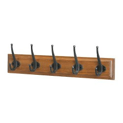 Mắc áo Ikea ( Rack with 5 hooks, antique stain )