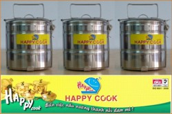 Camen 3 ngăn Happy Cook F4